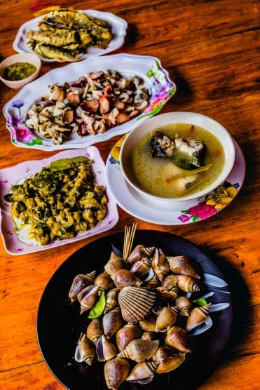 Jah Nai Guest House breakfast