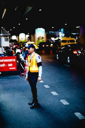 Silom Sidewalks